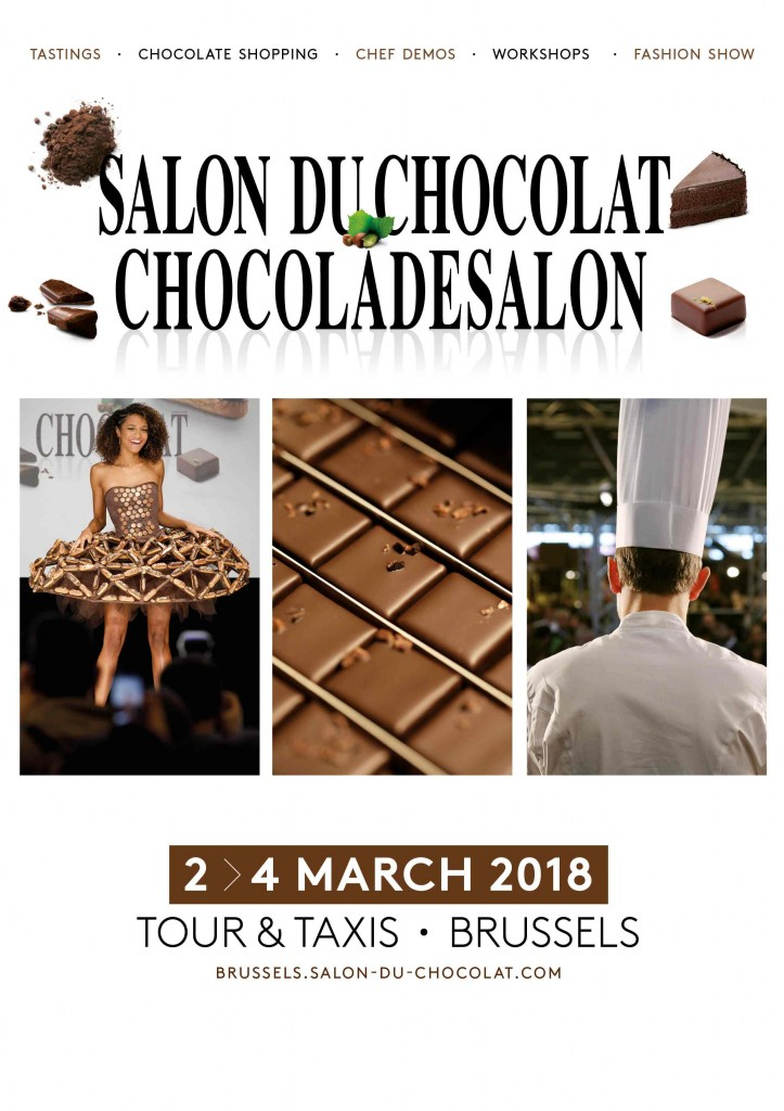 Salon du Chocolat - Chocoladesalon 2018